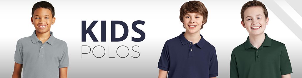 294b92883 Kids Polos | Wholesale Kids Polos | Boys Girls + Kids Polo Shirts -  blankstyle.com