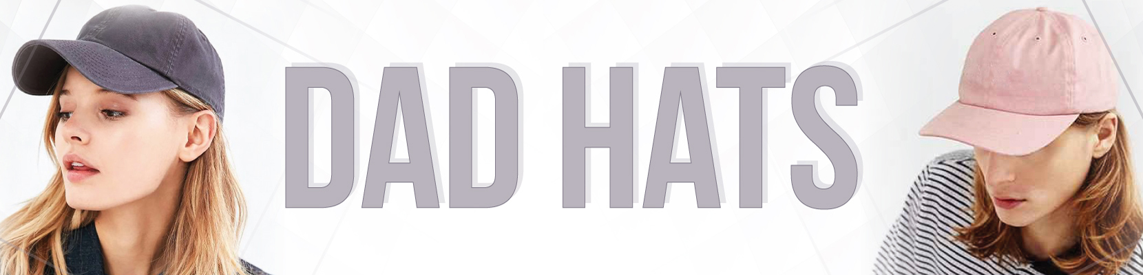 Dad Hats | Dad Caps Wholesale | Unstructured Hats + (Custom or Blank