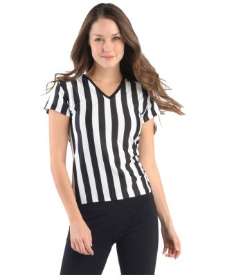 B02 In Your Face Ladies Referee V-Neck