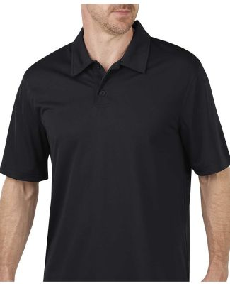 Dickies LS405 Unisex Industrial Performance Polo Without Pocket BLACK