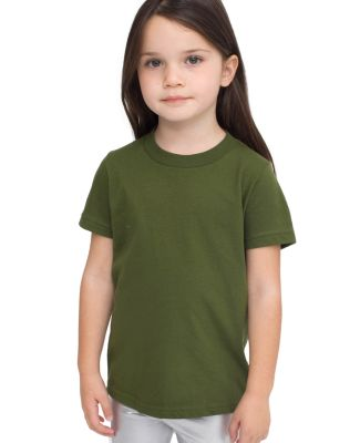 2105 American Apparel Kids Fine Jersey Short Sleeve T