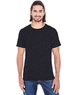 103A Threadfast Apparel Men's Triblend Fleck Short-Sleeve Tee BLACK FLECK