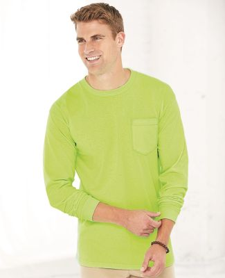 301 3055 Union-Made Long Sleeve T-Shirt with a Pocket