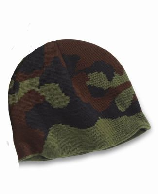 301 3820 USA Made Camouflage Knit Beanie