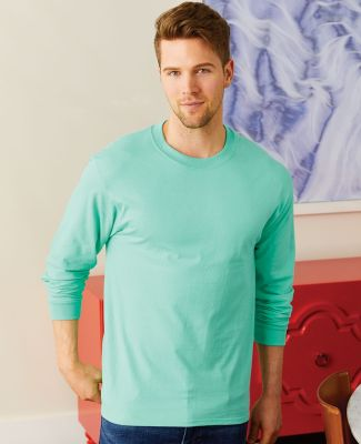 5186 Hanes 6.1 oz. Ringspun Cotton Long-Sleeve Beefy-T®