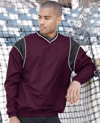 Rawlings 9700 V-Neck Micro Poly Windshirt