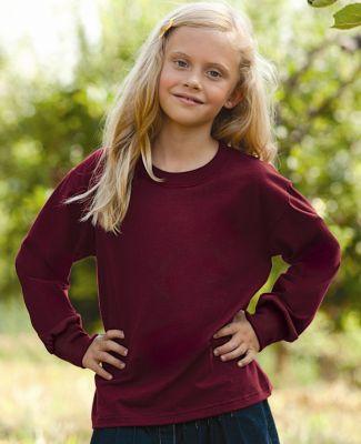 4930B Fruit of the Loom Youth 5 oz., 100% Heavy Cotton HD Long Sleeve T-Shirt
