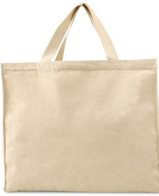 Liberty Bags 8501 12 Ounce Gusseted Canvas Tote
