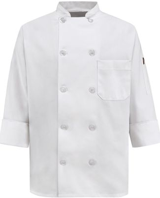 Chef Designs 0401 Women's Ten Button Chef Coat