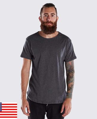 US Blanks US2488 Men's Short-Sleeve Recycled Crew