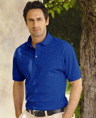 J100 Jerzees Adult Cotton Jersey Polo