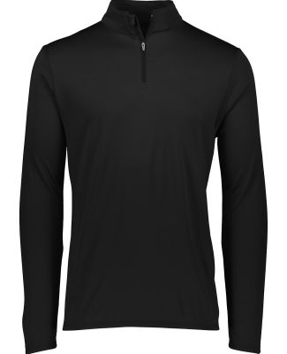 Augusta Sportswear 2786 Youth Attain 1/4 Zip Pullover Black
