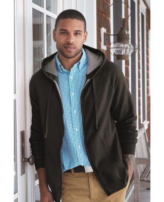 Hanes HN280 Nano Full Zip Hooded Sweatshirt