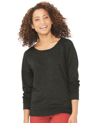LAT 3762 Women's Slouchy French Terry Pullover