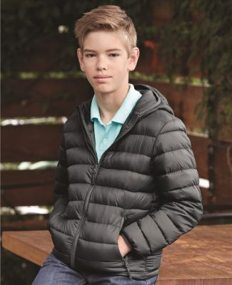 15600Y Weatherproof - Youth Packable Down Jacket