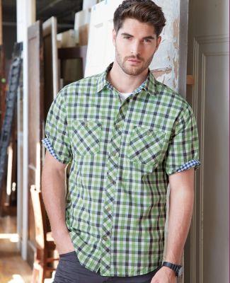 Weatherproof 154620 Vintage Plaid Short Sleeve Shirt