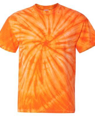 Dyenomite 200CY Cyclone Pinwheel Short Sleeve T-Shirt Orange