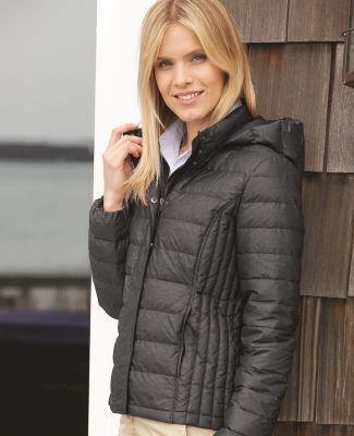 Weatherproof 17602W 32 Degrees Women's Hooded Packable Down Jacket