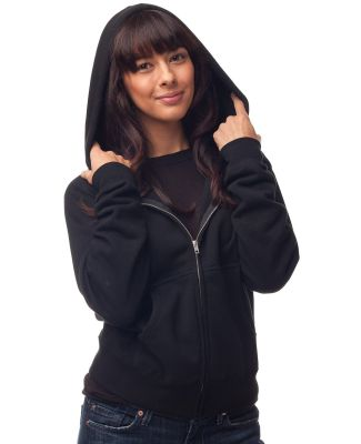 IND008Z - Independent Trading Company Ladies Full Zip Hooded Sweatshirt