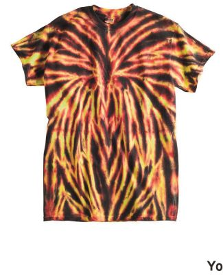 Dyenomite 20BSP Youth Spider Tie Dye T-Shirt