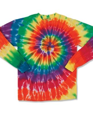 Dyenomite 240MS Spiral Tie Dye Long Sleeve