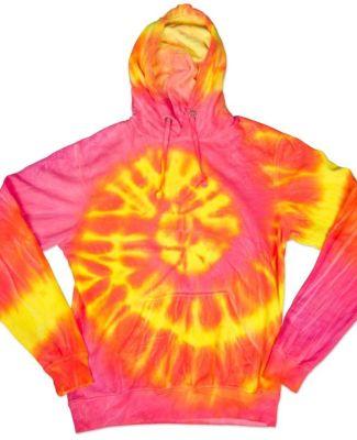 Dyenomite 854WA Wave Tie Dye Hoodie