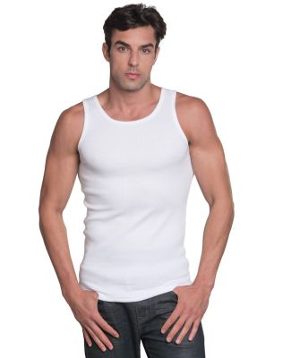 301 4573 2x1 Ribbed Tank Top