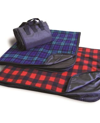 Liberty Bags 8702 Alpine Fleece Plaid Picnic Blanket