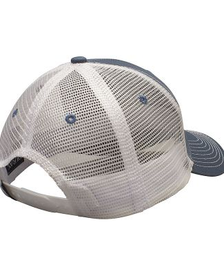 Ouray 50004/Contrast Mesh Stitch Steel/White