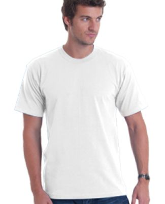 5040 Bayside Adult Short-Sleeve Cotton Tee White