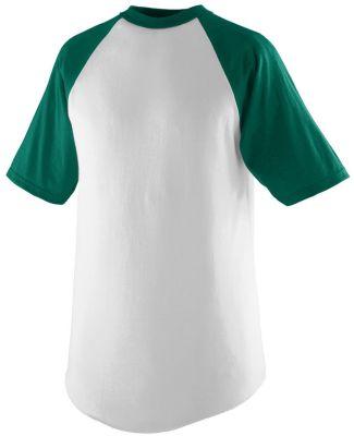 Augusta Sportswear 424 Youth Short Sleeve Baseball Jersey