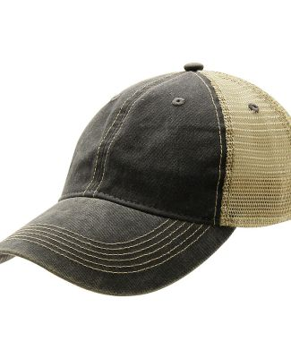 Ouray 51286/Legend Vin Trucker Cap Charcoal/Khaki