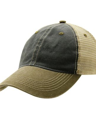 Ouray 51286/Legend Vin Trucker Cap Spruce/Khaki/Bark