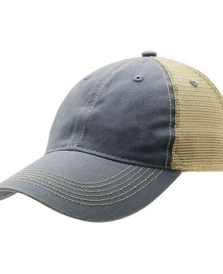 Ouray 51286/Legend Vin Trucker Cap Steel/Khaki