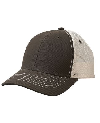51254 /Sideline Mesh Cap Dark Grey/White