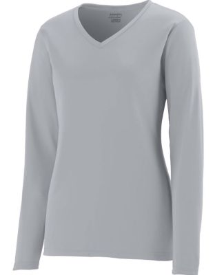 Augusta Sportswear 1789 Girls' Long Sleeve Wicking T-Shirt