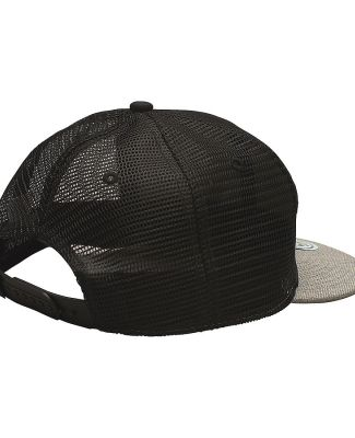 Ouray 52802/Mile High 5280 Flat Brim Mesh Back Black/Black/Grey Heather