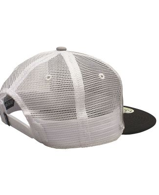 Ouray 52802/Mile High 5280 Flat Brim Mesh Back Grey/White/Black