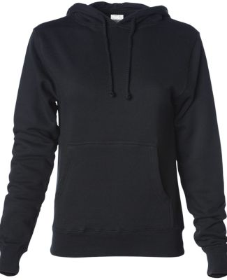 Independent Trading Co. IND008 Pullover Hooded Sweatshirt Black