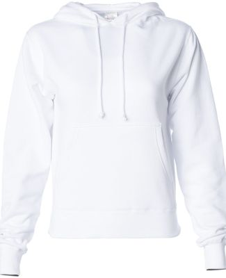 Independent Trading Co. IND008 Pullover Hooded Sweatshirt White