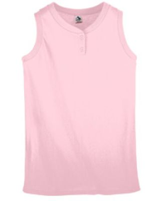 550 Ladies Sleeveless Softball Jersey Light Pink