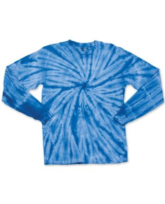 Dyenomite 24BCY Youth Cyclone Tie Dye Long Sleeve T-Shirt