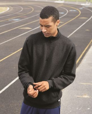 Russel Athletic 1Z4HBM Dri Power® Quarter-Zip Cadet Collar Sweatshirt
