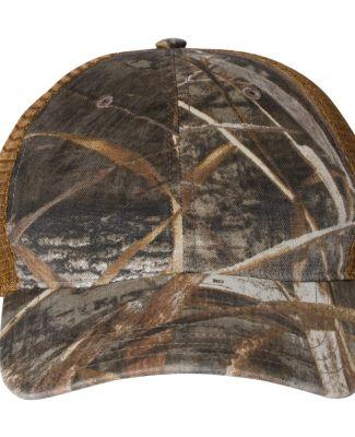 Richardson Hats 111P Washed Printed Trucker Cap Realtree Max 5/ Buck
