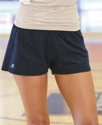 "Russel Athletic 64BTTX Essential Jersey Women's 3"" Inseam Shorts"