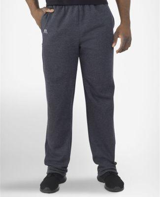 Russel Athletic 82PNSM Cotton Rich Fleece Open Bottom Sweatpants with Pockets