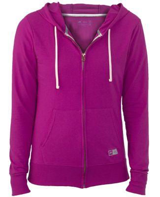 Russel Athletic 64ZTTX Women's Essential Jersey Full-Zip Hoodie