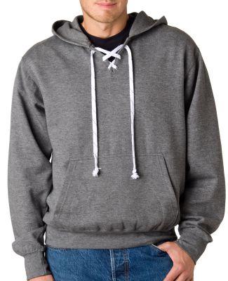 7476 Weatherproof Adult Hockey Hooded Blend Sweatshirt GRAPHITE