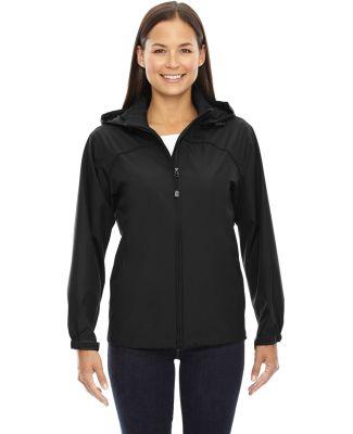 North End 78032 Ladies' Techno Lite Jacket BLACK