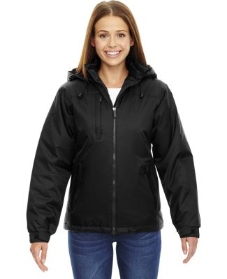 North End 78059 Ladies' Insulated Jacket BLACK